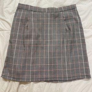 NASTY GAL Plaid Mini Skirt